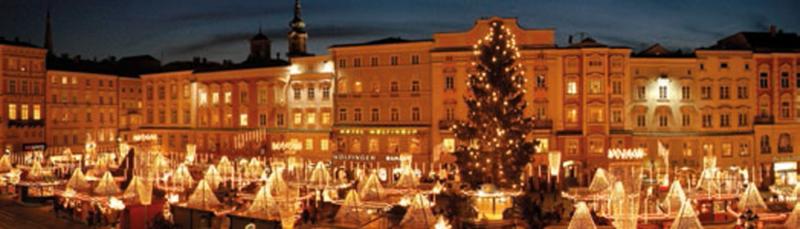 Weihnachtsmarkt Linz Hauptplatz