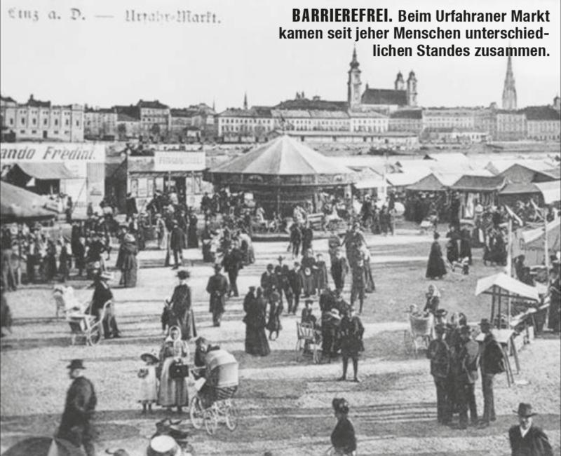 Beim Urfahraner Markt
